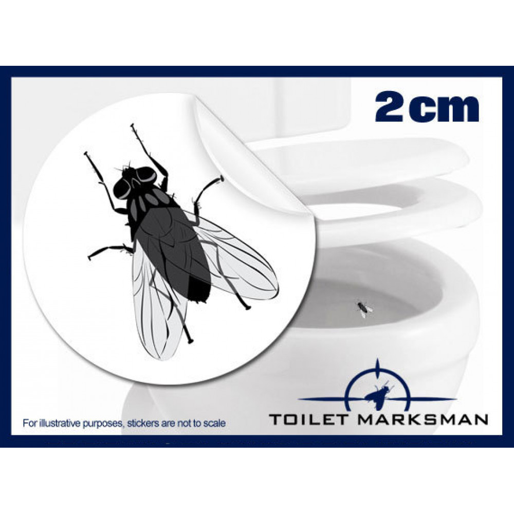 Toilet Fly Stickers