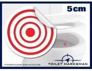 Toilet Target Stickers 5cm