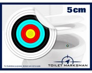 Archery Toilet Target Stickers 5cm