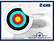 Archery Toilet Target Stickers
