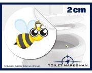 Bee Toilet Training Stickers