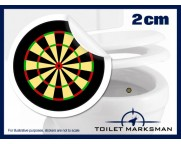Dartboard Toilet Target Stickers