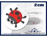 Ladybird Target Stickers